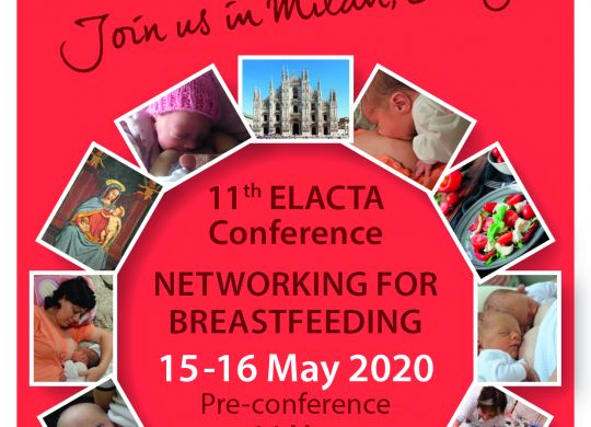 Save the date elacta conference 2020 ITA A6 Print 300dpi FRONT